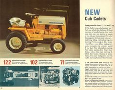 International Tractors, International Harvester, Vintage Tractors, Vintage Farm, Cub Cadet Tractors, Small Tractors, Tractor Pulling, Old Signs, Mini Bike