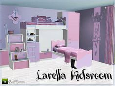 Larella Kidsroom by BuffSumm  http://www.thesimsresource.com/downloads/1175382