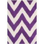 Cambridge Purple/Ivory 2 ft. 6 in. x 4 ft. Area Rug