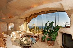 Flintstone-style house in Malibu