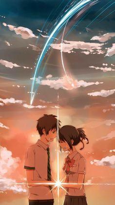 Kimi No Na Wa Anime, Kimi No Na Wa wallpaper, Kimi No Na Wa aesthetic, Kimi No Na Wa mitsuha, Kimi No Na Wa taki, Kimi No Na Wa your name, your name, your name wallpaper #animewallpaper #loveanime #animelover #animelove #kiminonawa #yourname #mitsuha #taki
