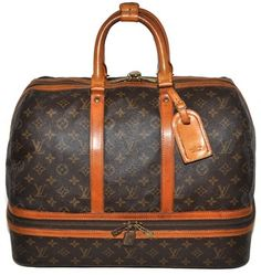 Louis Vuitton Sac Sports Monogram Carry On Duffle Luggage Brown Travel Bag. Save 77% on the Louis Vuitton Sac Sports Monogram Carry On Duffle Luggage Brown Travel Bag! This travel bag is a top 10 member favorite on Tradesy. See how much you can save