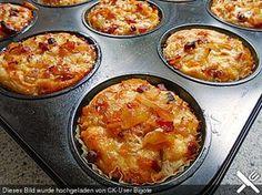 Zwiebelkuchen - Muffins