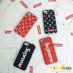 シュプリームxルイヴィトン コラボ カード収納 iPhone8/8plusケース 人気 Supreme Case, Apple Inc, Iphone 8 Plus, Usb Flash Drive, Sunglasses Case, Phone Cases, Accessories, Usb Drive, Phone Case
