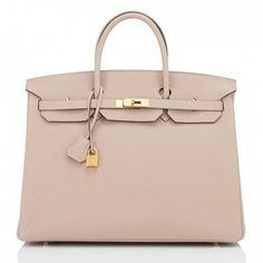 efe6b33fbfb  Hermes  Birkin  Bag Gris Tourterelle Togo Gold Hardware  Hermeshandbags  Hermes Bags