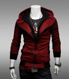 mens Hoodies sweater / jacket cardigan #Appleyonyaa on etsy.com