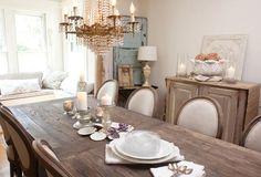 My dream dining room.