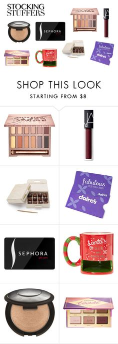 """Untitled #264"" by savanna-626 on Polyvore featuring Urban Decay, NARS Cosmetics, Sephora Collection and tarte"
