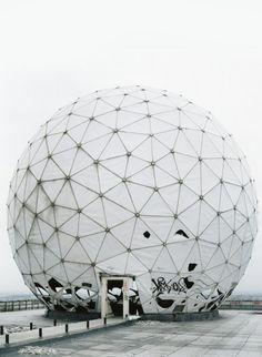 NSA Field Station Teufelsberg Berlin  Photo:Frank Thiel
