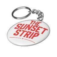 Sunset Strip Keychain