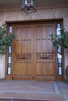 Entrance Design, Gate Design, Barbecue Garden, Facade House, House Facades, Driveway Entrance, Electric Gates, Wooden Gates, Rustic Doors