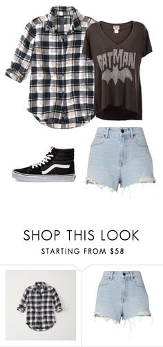 """""""Sin título #25"""" by tabby170 on Polyvore featuring moda, Abercrombie & Fitch, Alexander Wang y Vans"""