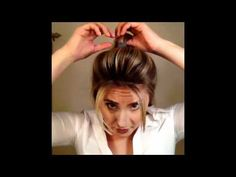 Fast and easy way to create that bump-it look hairstyle without using a bump-it . Fast and easy wa Ponytail Bump, Short Hair Ponytail, Perfect Ponytail, Bump Hairstyles, Quick Hairstyles, Gymnastics Hair, Ponytail Tutorial, Overnight Hairstyles, Cheer Hair