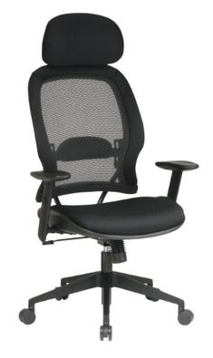 Heavy duty office chair - Pin it :-) Follow us   :-)) AzOfficechairs.com is your Office chair Gallery ;) CLICK IMAGE TWICE for Pricing and Info :) SEE A LARGER SELECTION of  heavy duty  office chair at http://azofficechairs.com/?s=heavy+duty+office+chair -  office, office chair, home office chair -   Office Star Matrex Mesh Back High-Back Chairs-Executive High-Back Chair, 27-1/2″x28-1/2″x56-1/4″, Black « AZofficechairs.com