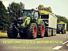 Fendt 900 Vario Com Ⅲ Tractor Workshop Service Repair Manual  #FENDT900…