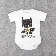 Body Bebe Boy Little Batman