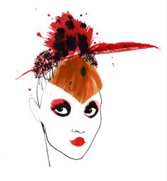 Lovisa Burfitt : Agent & Artists ╰☆╮ZPeacocks..╰☆╮