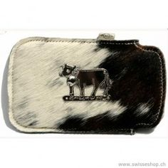 For iPhone 6 Galaxy S6 Sleeve with cow