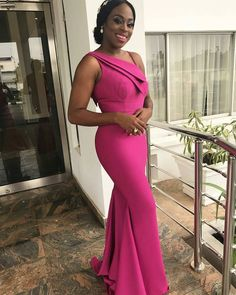 Latest Aso Ebi styles classic and Unique Aso Ebi Styles To Try Out Eggplant Bridesmaid Dresses, Dusty Rose Bridesmaid Dresses, Bridesmaid Dresses Online, Bridesmaids, Lace Dress Styles, African Lace Dresses, Latest African Fashion Dresses, Wedding Guest Gowns, Dinner Gowns