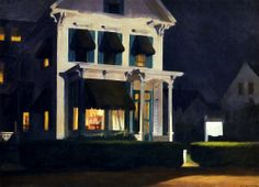 Edward Hopper: Rooms for Tourists, 1945.