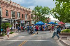 Downtown Farmer's Market on Main Street. June through September.