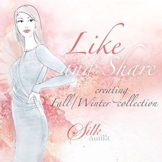 Like&Share sketches for upcoming Silk&Milk Fall/Winter 15/16 collection on our Facebook page: www.facebook.com/silkandmilk and won EUR 50 Gift Card! #silkandmilk #breastfeeding #competition #facebook #likeandshare #fashionsketches #fallwinter #newcollection #happymom