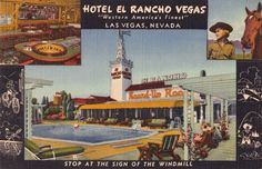 El ranch post card