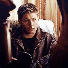 [SET OF GIFS]  Dean Winchester  #Supernatural   #Hookman  1.07