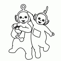 teletubbies coloring pages printable - Teletubbies Dipsy Coloring Pages