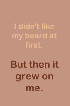 Beard pun