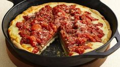 An easy homemade sauce tops a convenient refrigerated crust in a pizza you can customize with your favorite kind of sausage.