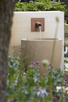 Check out these Solar Water Fountain in garden ideas and bring a refreshing look to your backyard or front yard. Backyard Water Fountains, Backyard Water Feature, Garden Fountains, Outdoor Fountains, Backyard Waterfalls, Garden Ponds, Backyard Ponds, Koi Ponds, Design Fonte