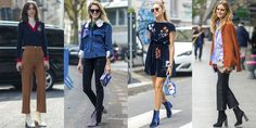Ankle boots have become the go-to for women everywhere—whether your style is classic or eclectic, up. - Provided by Harper's Bazaar Ankle Boots Outfit Summer, How To Wear Ankle Boots, Fall Shoes, Autumn Summer, Winter, Wardrobe Basics, What To Wear, Autumn Fashion, Summer Outfits