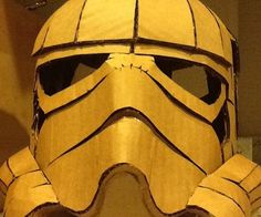 """Here's a fun project for Halloween or just to create your own crazy Star Wars inspired creation. You can either download the files, print, trace and cut your own cardboard or visit my Esty shop and purchase the kit and I'll cut the pieces for you! Note: Use gloves to avoid paper-cuts from laser cut cardboard (and hot glue). Sand the edges a bit for less risk of injury.Materials needed: PDF file or Cardboard kit from EtsyTwo 18"""" x 24"""" cardboard sheets (if using the fi..."""