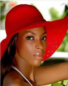 black woman with hat - Google Search