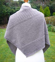 Ravelry: Winter Shawl pattern by Helen Kennedy