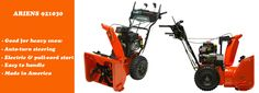 Powerful gas snow blower from Ariens