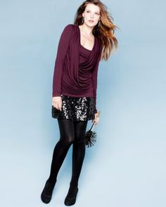 Val Long-Sleeve Top by Velvet by Graham & Spencer