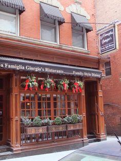 La Famiglia Giorgio's Ristorante #boston #italian #restaurant