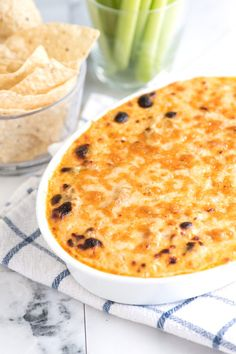 How to Make Creamy, Cheesy Buffalo Chicken Dip from Inspired Taste