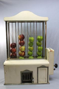Antique 5-cent Coin-Op *Apple Vending Machine*