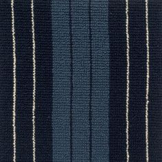 Construction: Tufted Loop Texture, Material: New Zealand Wool, Width: Pattern Repeat: W, Country: USA, Availability: Available Wall Carpet, Carpet Stairs, Rugs On Carpet, Navy Stair Runner, Stair Runners, Striped Carpets, Black Camel, Wall Installation, Cheap Carpet Runners