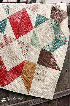 Moda Love quilt with Honky Tonk.