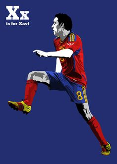 Part of my 'F is for Football' project. As you've probably already guessed it's going to be an illustrative A-Z featuring 26 iconic players.