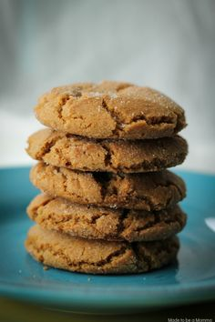 Delicious and soft molasses cookies