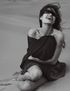 Angelina Jolie, Vogue, 2007.