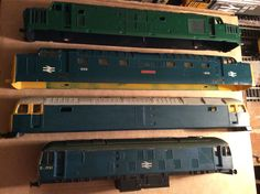 Tractor, Deltic,Duff & Rat bodyshells Acquired From a friend on fb on 18/01/16