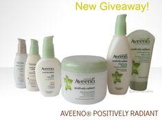 Productos de la linea Aveeno Positively Radiant - New giveaway