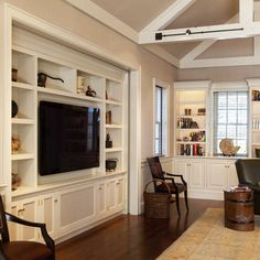 Built In Cabinets Marcia Dudley Family Room