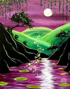 Paint Nite - Admin Panel » Unknown  Magic Pond Gabriel Nazareta
